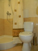 Standard Room, bathroom unit, Hotel «Odessa Hotel Complex»